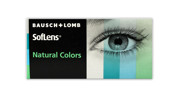 Colored Contact Lenses - Dark Hazel