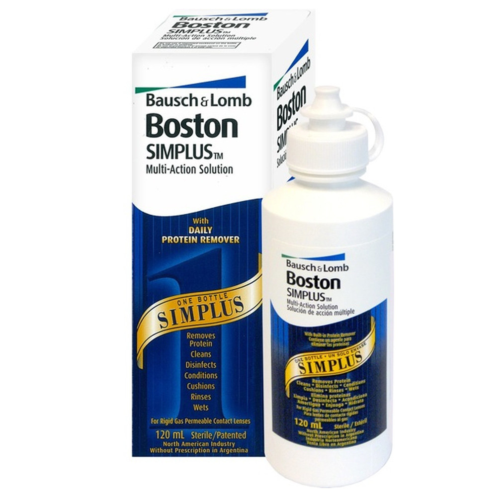 Boston simplus - multi purpose solution 120ML