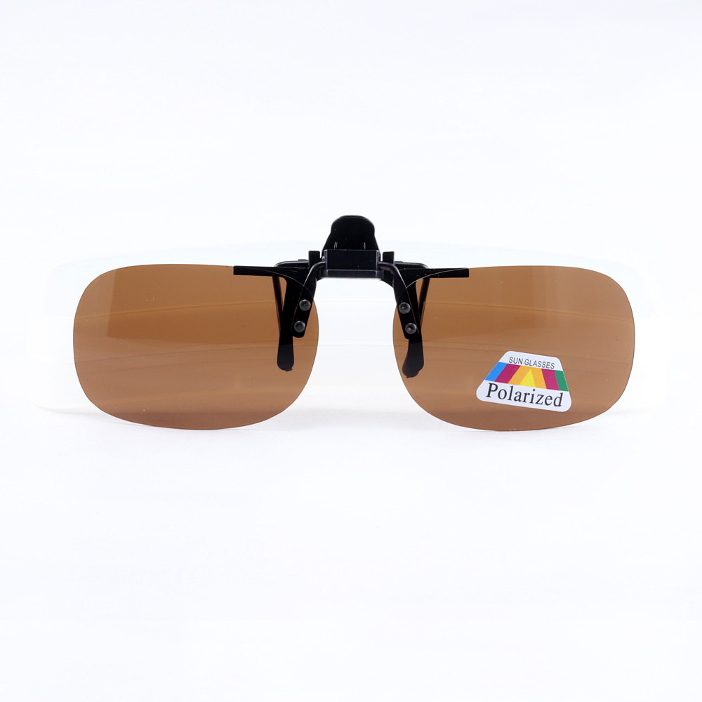 Polarized Clip-on - Brown